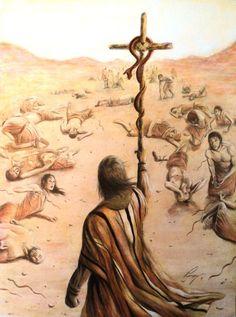 Juan 3:14-15 Y como Moisés levantó la serpiente en el desierto, así es necesario que el Hijo del Hombre sea levantado, para que todo aquel que en él cree, no se pierda, mas tenga vida eterna.♔