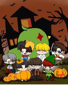 Got7 Fanart, Chibi, Fan Art, Wallpaper, Cute, Fictional Characters, Wallpapers, Fantasy Characters, Fanart