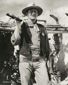 John Wayne in Rio Bravo directed by Howard Hawks, 1959