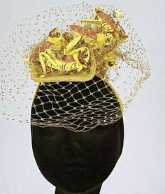 Bes Ben Praying Mantis hat Couture and Textiles - Sale 0011021 - Lot 996 - Doyle New York