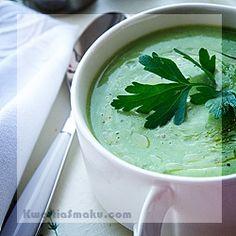 Gorgonzola Cream of Broccoli - Recipe Cream Of Broccoli Recipe, Broccoli Recipes, Raw Food Recipes, Food Porn, Chilli, Ethnic Recipes, Chefs, Kitchen, Cooking