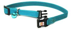 Hamilton Adjustable Break-A-Way Safety Cat Collar, Teal, 3/8' Wide ** Don't get left behind, see this great  product(This is an affiliate link and I receive a commission for the sales)