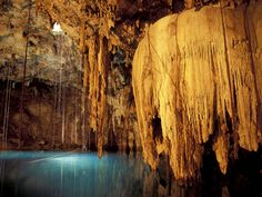 Nature mexico underground lakes caves rock formations (1920x1440, mexico, underground, lakes, caves, rock, formations)  via www.allwallpaper.in