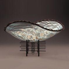 "22"" Oval Elliptical Lumen Bowl by Scott Amrhein"