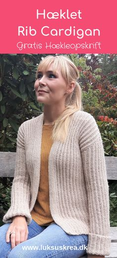 Crochet Shirt Warm and cozy crochet cardigan, very easy, free crochet pattern. Mode Crochet, Diy Crochet And Knitting, Crochet Woman, Crochet Clothes, Crochet Sweaters, Crochet Afghans, Afghan Crochet Patterns, Crochet Bodycon Dresses, Black Crochet Dress