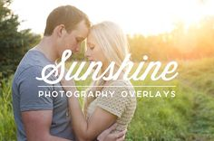Sunshine Photography Overlays by Ash Tree Actions on Creative Market