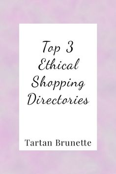 abbe1c90a6db1 Shopping for ethical fashion can be difficult especially if you don t know  what brands are ethical. These 3 ethical fashion directories make the task  of ...