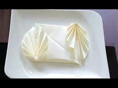 Как красиво сложить салфетки Servietten falten 折叠抹布 - YouTube
