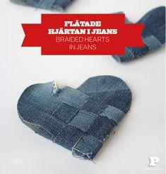 Flätade hjärtan / Braided Hearts