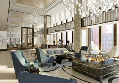 Contract - Langham Chicago Debuts in Mies van der Rohe's IBM Building