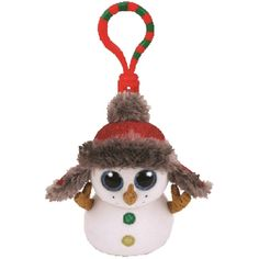 5567923038d Buttons the Snowman Clip comes to us from TY
