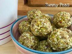 Cardamom and pistachio energy bites (vegan, gluten free)