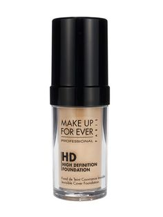 If you're going to be taking serious pictures (we're talking engagement photos or your hottest profile pic ever), invest in a high-definition foundation. They were originally developed for actresses and news anchors on HD TV—to hide literally everything. This one also looks invisible when you wear it, and it comes in a ton of shades.