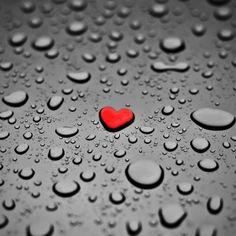 Love is as refreshing as the rain.