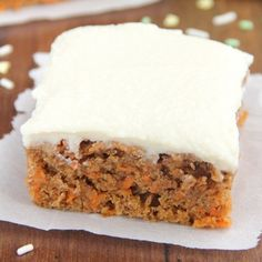 The easiest Carrot Cake you'll ever make -- plus it's secretly skinny  guilt-free!