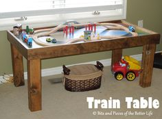 train table a must for every little boy. :) I used to love this with my brothers.