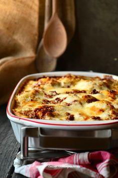 Cucina Scacciapensieri: Lasagna classica al ragù di carne con semola Senatore Cappelli