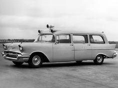 ◆1957 Chevy Ambulance◆