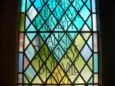 Glass Engraving, Calligraphy Letters, Stained Glass, Carving, Lettering, Wood Carvings, Sculptures, Drawing Letters, Printmaking