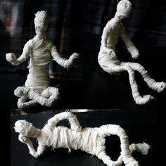 Movable Mummies | AllFreeKidsCrafts.com
