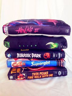 VHS Cover Pillows