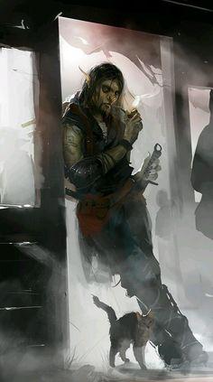 Half-orc.