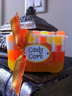 Candy Corn Fall Soap