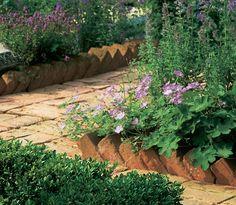 brick edging | Stonemarket - Antique Brick Edging - Antique Red