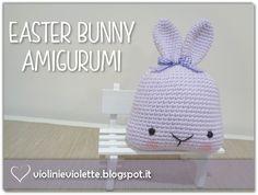 crochet easter bunny ♥