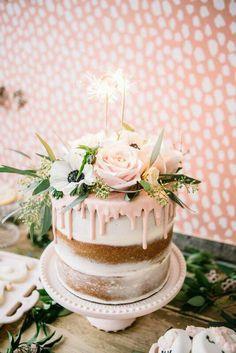 K A T I E Kathryynnicole Birthday Drip Cake Pretty Cakes Sweet 16