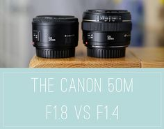 Ever wondered about the differences between these two lenses? Here's a comparison between the Canon 50mm F1.4 and the F1.8 version.