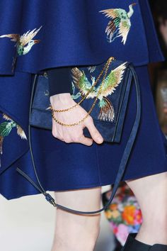 Valentino embroidered bag !!
