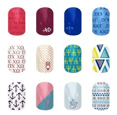 Sorority sisters here's to you! Tri Delta, Pi Phi, Chi Omega, and Delta Gamma to name a few! http://xfitkettleberries.jamberrynails.net/