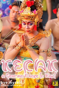Pinnable Picture on the Post on KECAK - a German Dance in Bali Tokyo Japan Travel, Female Dancers, Dutch East Indies, Before Marriage, Malayalam Actress, Learn To Dance, Types Of Women, Dutch Artists, Dancing In The Rain