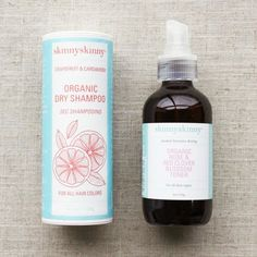 Skinnyskinny - This certified-organic line of skincare, hair and bath products looks as good in the packaging as it feels on your body.