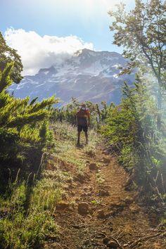 surendemico: Circuito Las Nalcas Malalcahuello. Vista al Volcan Tolhuaca en una tarde de verano del terror, donde cada vertiente que habia en mapa se habia secado en la realidad.