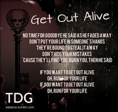 Three Days Grace - Get out alive