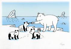 Feggo, Global Warming. 2nd Prize at 14th Porto Cartoon World Festival, Portugal 2012.