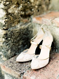 If you want to find very comfortable wedding shoes you have two top choices, one is to wear cowgirl wedding boots (as many of our readers choose). However, cowgirl boots aren't for everyone, even i… Lace Bridal Shoes, Sparkly Wedding Shoes, Wedding Boots, Bride Shoes, Snow White Shoes, Baskets, Sergio Rossi Shoes, Sr1, Marie