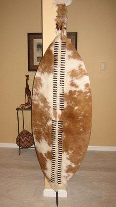 Zulu War Shield Shaka Sized