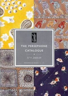 Persephone Books catalogue