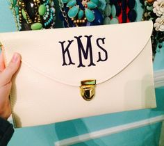 Monogram Clutch! Must have!!!