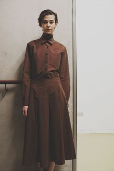 Margaret Howell AW15 Womenswear Tailoring Neck Tie