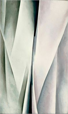 Abstraction by Georgia O'Keeffe, 1926. Abstraction in Bloom, The New York Times