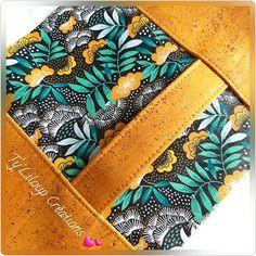 Ty'Liloup Créations sur Instagram: Que pensez-vous des couleurs de ce magnifique liège de luxe et coton imprimé de @lamerceriedescreateurs ? Moi j'adore ! elles sont…
