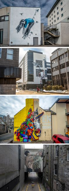 The Second Annual Nuart Aberdeen Festival Activates the Scottish Town With Installations Inspired by National and Regional Themes