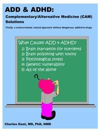 ADD & ADHD Solutions . . . (Available at Amazon link)