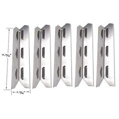 Bbq Parts Factory in USA: Permasteel Heat Shield/Plate | Replacement 5 Pack ...
