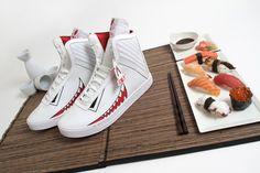 Tokyami sushi sneakers