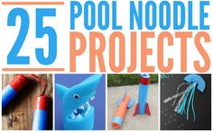 25 Super Fun Pool Noodle Projects